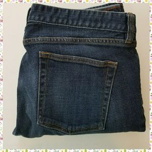 ●J.CREW MATCHSTICK JEANS, SIZE 32R